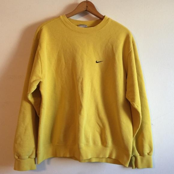 Nike Yellow Crewneck
